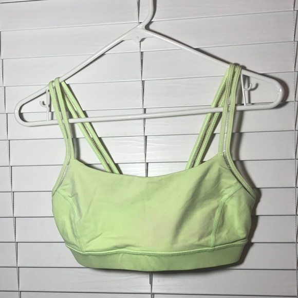 2060c2667f 40% off lululemon athletica Intimates   Sleepwear Neon Sports Bra ...
